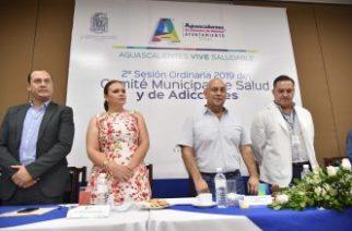 Comité municipal de salud y prevención de adicciones cumple objetivos
