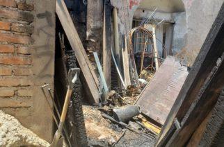 Bomberos sofocan incendio en restaurante Casona Corzo
