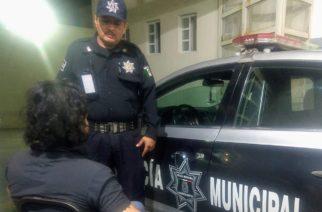Policías municipales evitan un suicidio más en Aguascalientes