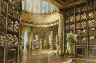 ¿Cómo se conformó la gran biblioteca de Alejandría en Egipto?