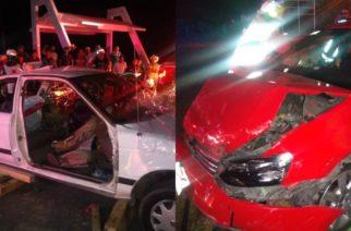 5 heridos deja choque en la carretera Aguascalientes-Calvillo