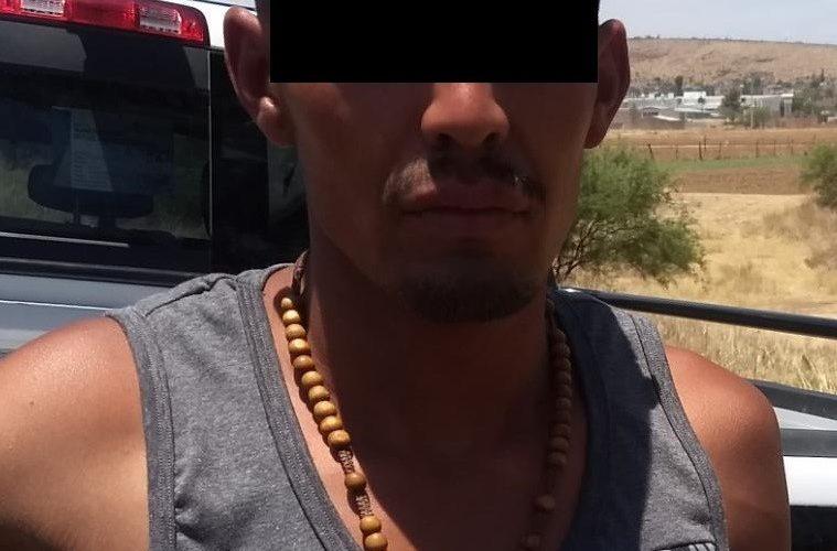"""Detienen en Cosío a distribuidor de drogas conocido como """"El Cuco"""""""