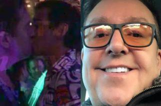 ¡¿No que no?! Revelan VIDEO de Daniel Bisogno besando a otro hombre en Zona Rosa