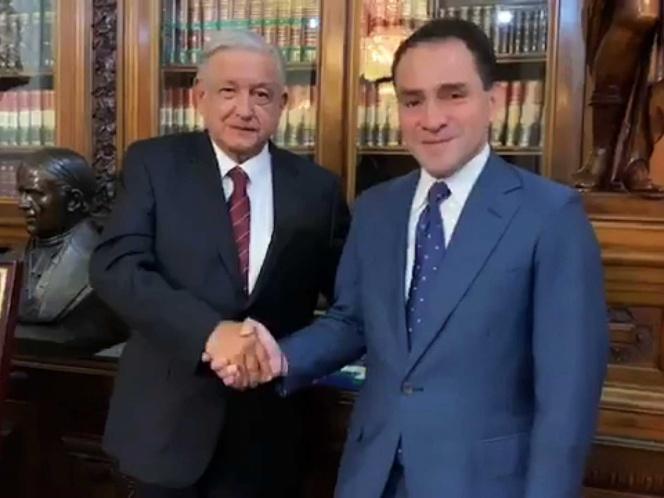Presenta López Obrador a nuevo Secretario de Hacienda