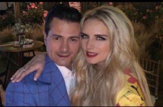 Tania Ruiz agradece a Dios por su amor con Peña Nieto