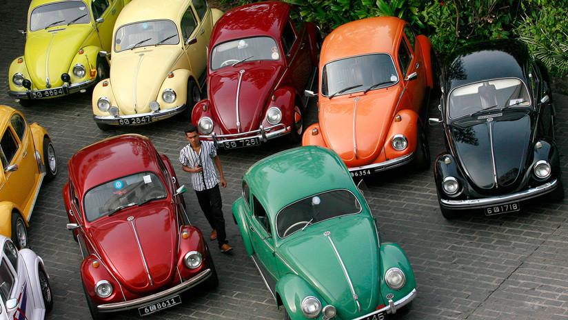Volkswagen dice adiós a su popular 'Escarabajo'