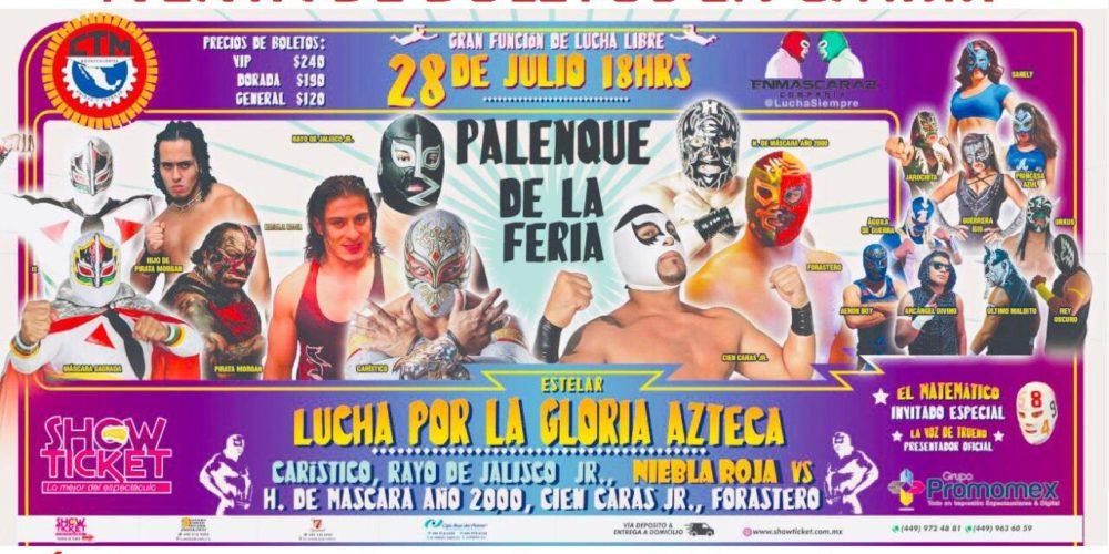 Lucha Libre en el Palenque de la Feria