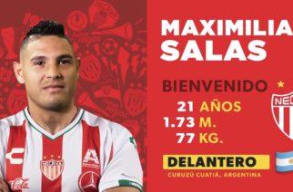Confirma Necaxa fichaje del argentino Maxi Salas