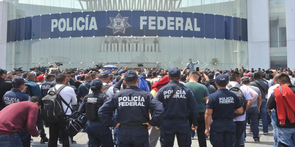 AMLO anuncia acuerdo con la Policía Federal