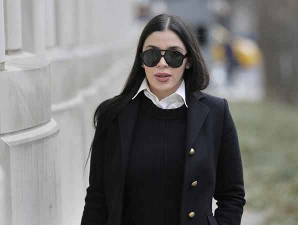 Asegura Emma Coronel que no le sorprendió nada del juicio vs El Chapo