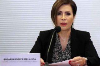 Robles promoverá amparo por violación a sus derechos humanos