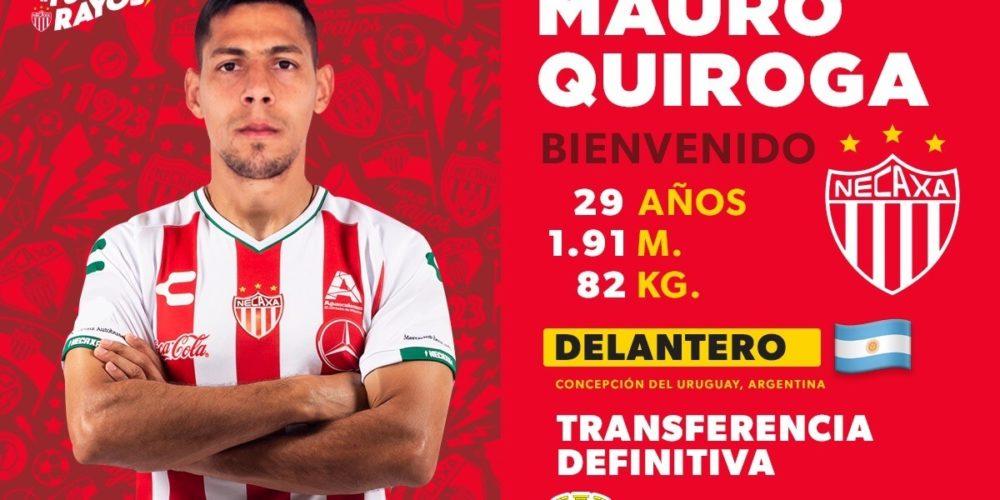 El delantero Mauro Quiroga llega a Necaxa
