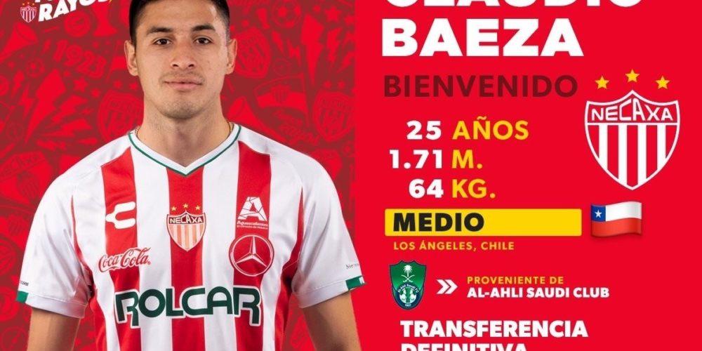 Claudio Baeza llega a los Rayos