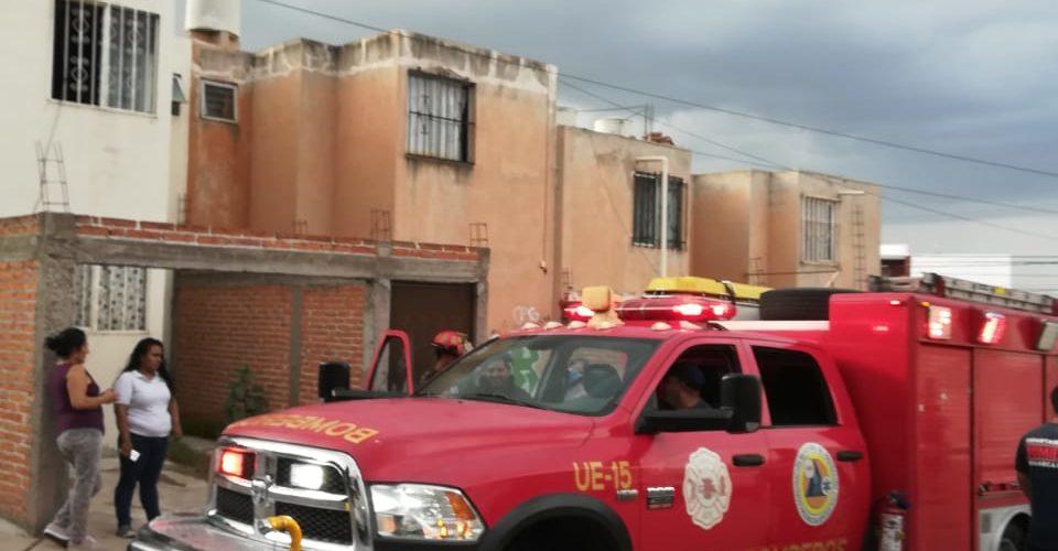 Se registra incendio en el Morelos