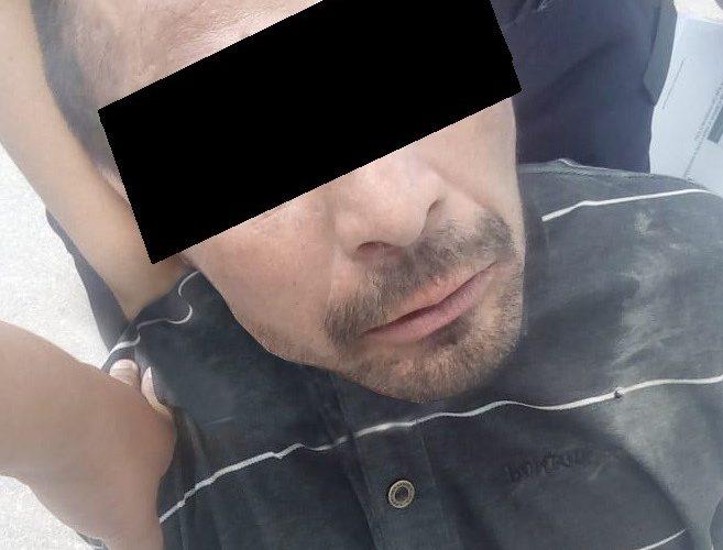 Loco sujeto agredió a policías con una hacha en Jesús María