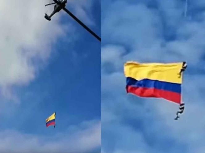 Soldados caen desde helicóptero; todo queda grabado
