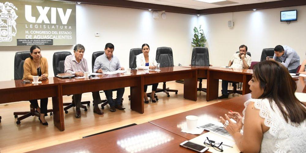 Aprueban dictamen para agilizar traslado de cuerpos del extranjero a Aguascalientes