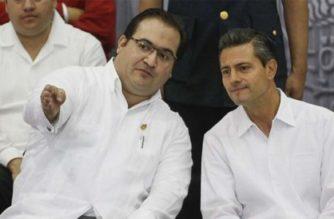Javier Duarte ofrece a FGR delatar a Peña