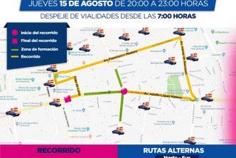 Listo, operativo municipal para la Romería de la Asunción