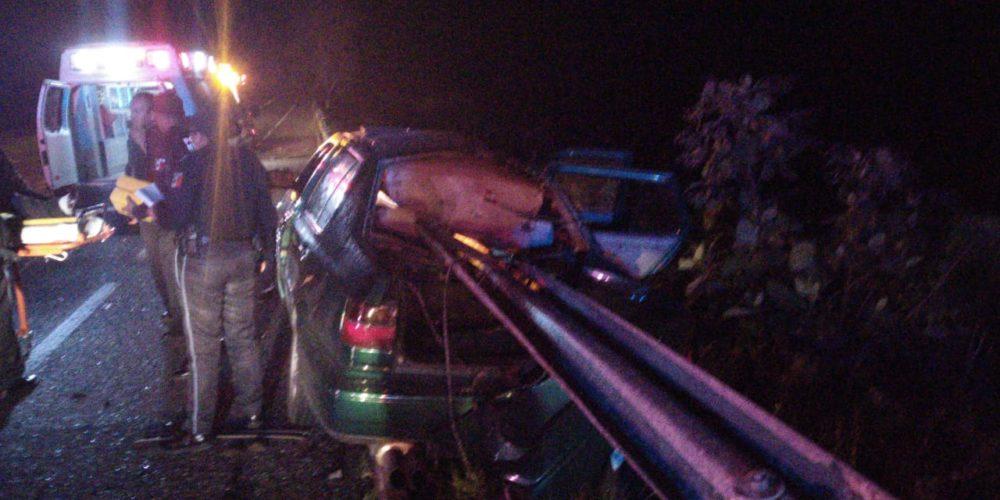 3 heridos deja accidente en Aguascalientes