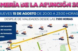 Toma precauciones en las vialidades para la Romería de la Asunción