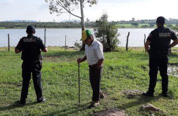 Encuentran cuerpo de ahogado en presa de El Taray