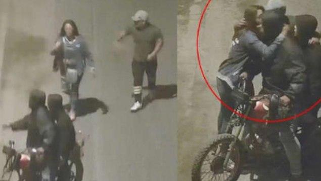 Delincuentes detienen robo cuando reconocen a su víctima (VIDEO)