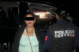 Capturan a mujer con cuatro envoltorios de crystal en Villa Juárez