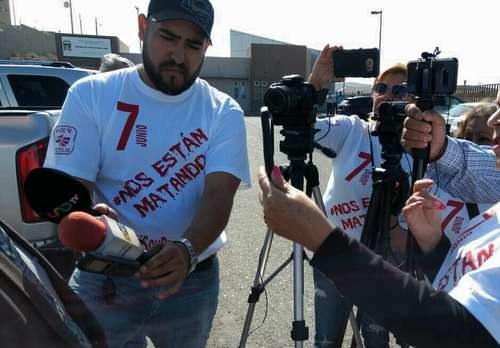 Protestan reporteros de Tijuana por violencia contra el gremio