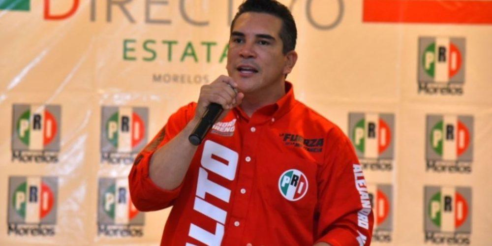 PRI elige como nuevo presidente a Alejandro Moreno Cárdenas