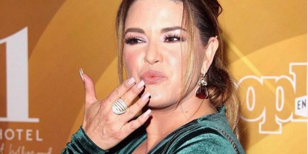 Exponen sobrepeso de Alicia Machado en Hoy