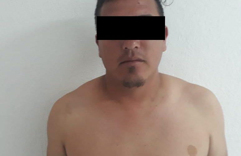 Sujeto acusado de agredir a su esposa e hija de dos meses, fue detenido en el municipio de El Llano