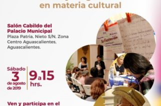 Invitan a participar en foros de dignóstico sobre la cultura