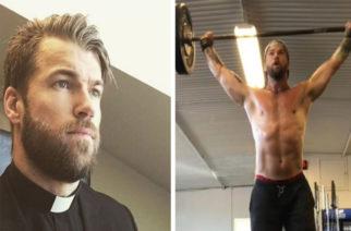 Sacerdote sueco saca suspiros en Instagram
