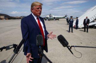 """""""Estoy usando a México para proteger la frontera"""": Trump"""