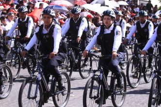 Corporaciones municipales participaron en desfile cívico militar