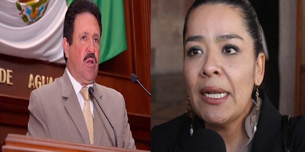 Chocan diputados de PRI y Morena en Aguascalientes