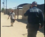 (Video) Policía abate a sujeto que lo agredió con cuchillo en mano