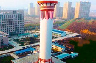 Torre reduce la contaminación en China