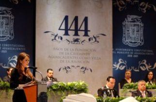 Tere Jiménez convoca a una gran alianza por Aguascalientes