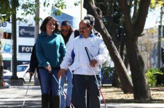 DIF municipal de Aguascalientes celebra el Día Mundial del Bastón Blanco
