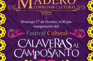 Este domingo, nueva edición de Calaveras al Camposanto en Pabellón de Arteaga