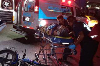 Moribundo sexagenario tras caer de su moto en Aguascalientes