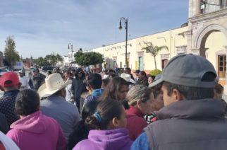 Cesan a casi 200 empleados del municipio de El Llano, Aguascalientes