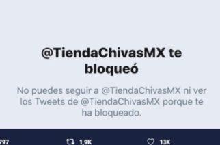 Tras bromas, tienda oficial de Chivas bloquea a Puebla en Twitter