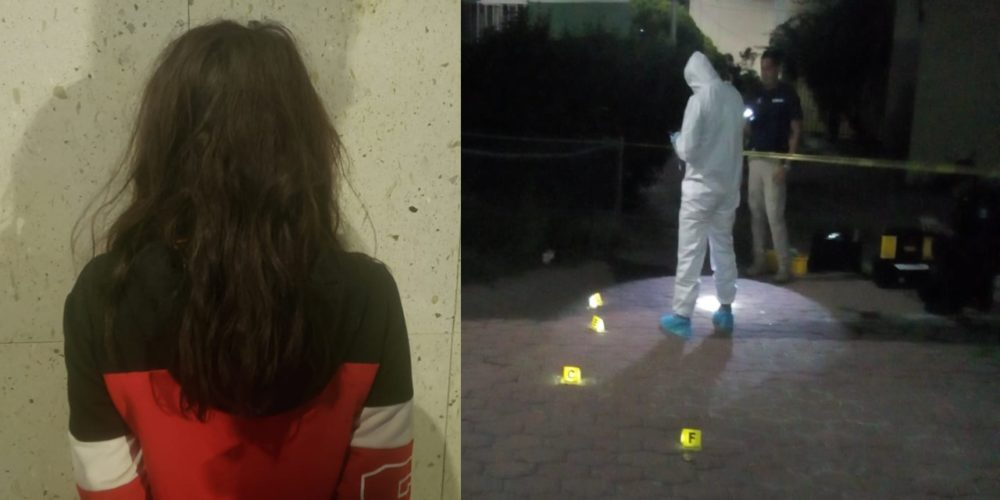 Detienen Débora por vender droga y echar balazos en Aguascalientes