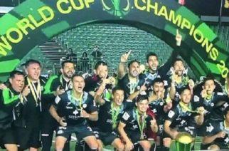 México gana campeonato mundial de Minifutbol