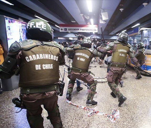 Dejan protestas en Chile 3 muertos y más de 700 detenidos