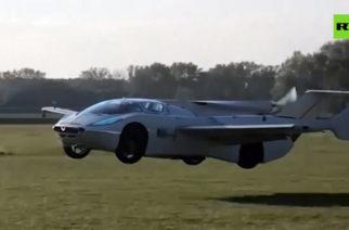 (Video)Autos voladores son ya una realidad