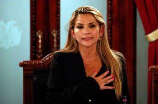 Senadora Jeanine Añez se proclamó presidenta de Bolivia